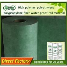 Tomadas de fábrica favoráveis ao meio ambiente Membranas Waterproofing do polímero alto do polietileno