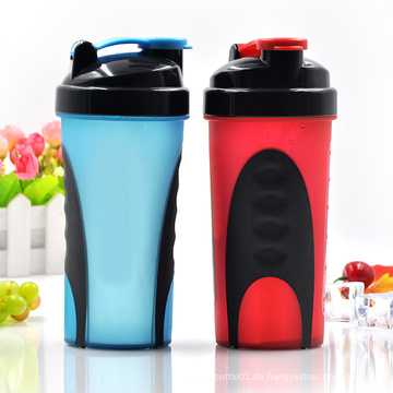 600ml Xyt Private Form Kunststoff Protein Shaker Flasche mit Edelstahl Ball