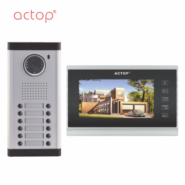 Multi Apartment Best Video Home Intercom System