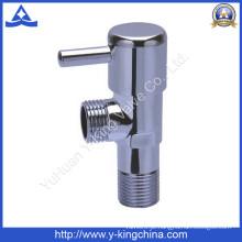 Válvula de ângulo de latão polido de alta qualidade Y-King (YD-5026)