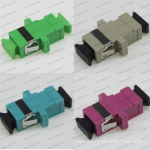Sc Sm/mm/APC/Om3/Om4 Sx Ear Welding Optical Fiber Adapter