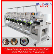 Besten China Fabrik Preis Daohao System Maschine / neue 8 Kopf röhrenförmigen Cap Stickerei Stickmaschine