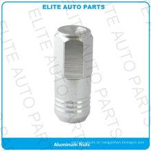 Porca de alumínio de carro de corrida para carro