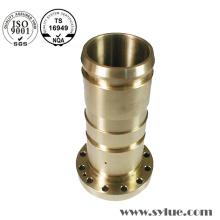 Encaixes de encanamento de bronze com solda e ajuste de pressão