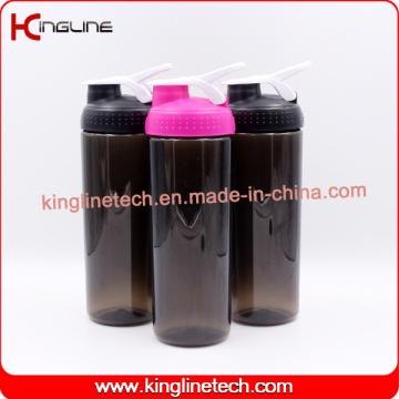 750ml new design Plastic Blender Shaker Bottle with Stainless Blender Mixer Ball (KL-7066)