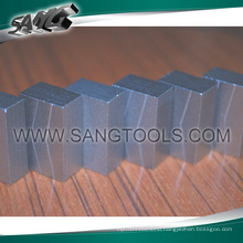 Soft Bond Segment for Cutting Granite