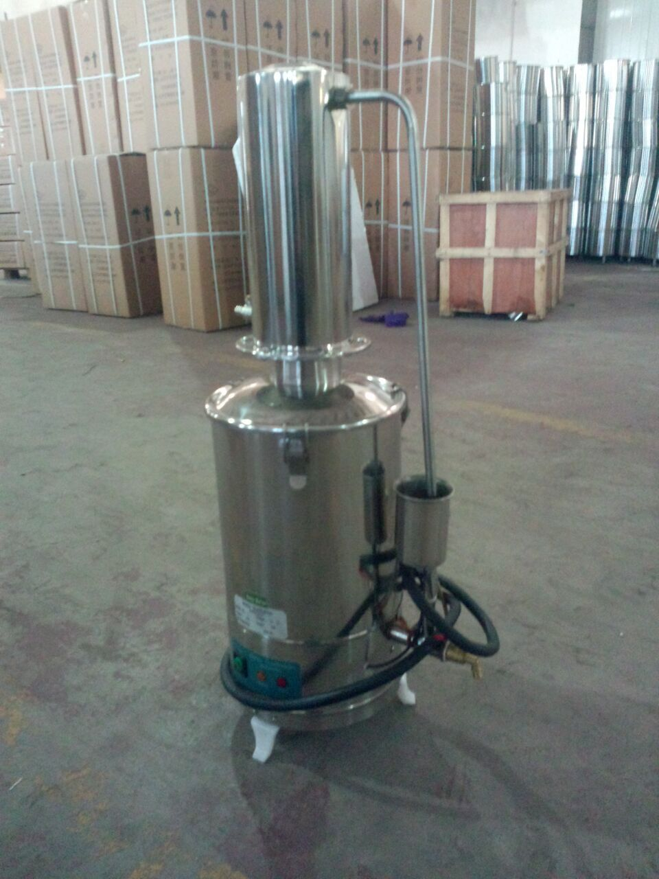 20L stainless steel electric automatic water distiller