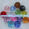 4-20MM Acrylic Crystal Faceted Diamond Beads Transparent Crystal Beads Jewellery Findings