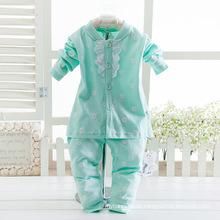Großhandelsqualitäts-Baumwollbaby-Anzüge für Mädchen.