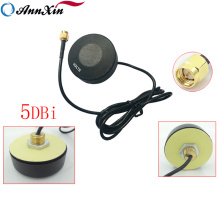 Antena redonda 4G LTE de GPRS G / M 3G com o cabo 1M do conector de SMA