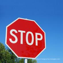 Placa de advertência automática / sinal de aviso de tráfego Led Stop Sign Security Card