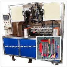 Perçage de 5 axes de commande numérique par ordinateur de 2 axes et 1 machine de brosse de touffetage de tête