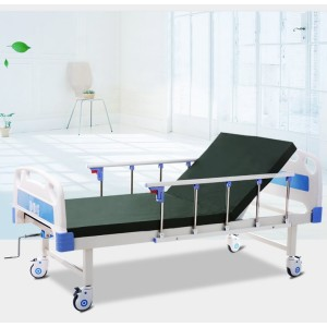 Medical Single-shake Nursing Bed With Truckle