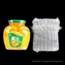 Hand-Verpackungs-Beutel-Luft-Säulen-Beutel für Frucht-Glas