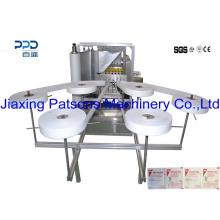 Máquina de envasado de almohadilla de preparación de alcohol de alta velocidad