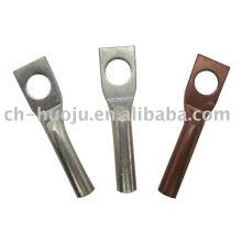 Terminal de compresión de cobre de 1 orificio