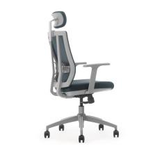neuer Design-Computerstuhl mit Lenden- / Mesh-Bürostuhl in Grau zurück