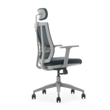 nouvelle chaise d'ordinateur de conception avec la chaise de bureau lombaire / de maille dans le dos gris