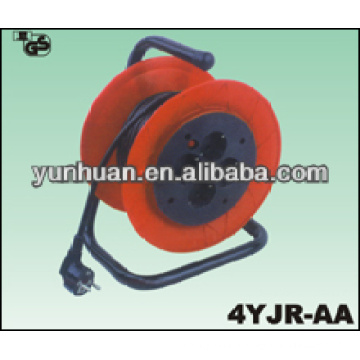 French Power Cable Reels schuko plug