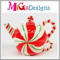 Christmas Ceramic Decoration Teapot Shape Mug