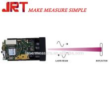 précision 1mm gamme 60m hauteur angle Capteur de mesure laser