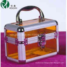Professional Beauty Acrylic Cosmetic Case (HX-Y002-2b)