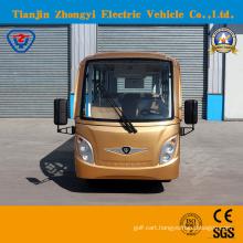 Zhongyi 14 Seats Sightseeing Classic Shuttle Intelligent Pulse Charger Intelligent Pulse Charger Sightseeing Car with Ce SGS Certificate