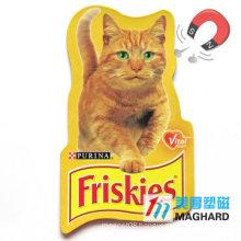 Pets Company Advertisement Paper Fridge Magnet