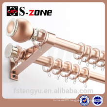 2014 hot sale window curtain rod metal curtain pole
