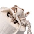 Al aire libre portátil estera de yoga llevar bolsa con tela de algodón