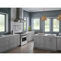 Gabinetes de cocina de lujo, muebles de madera maciza