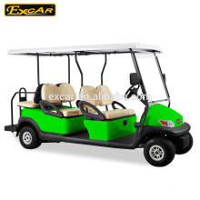 CE genehmigt 6 Sitze Elektro Golf Cart Custom Golf Auto Buggy zum Verkauf