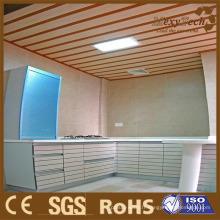 Plafond composé de PVC de décoration d'intérieur de fabricant de Canton WPC, panneau de mur