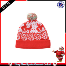 16FZCB01 winter holiday beanie christmas hat