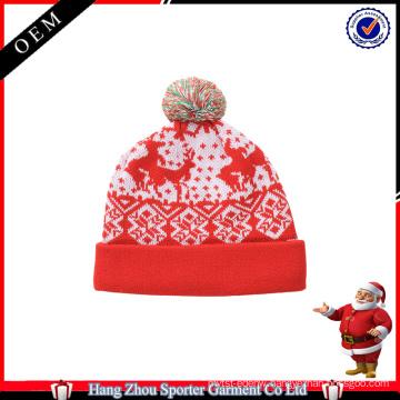 16FZCB01 winter holiday beanie christmas hat