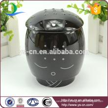 2015 Wholesale Black Ceramic Creative Sami Cup