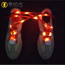 Benutzerdefinierte 110 cm gerade LED-Schnürsenkel für Sport