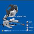 255mm 1600w Kopf abnehmbare Induktionsmotor Aluminium Holz Schneiden tragbare elektrische Gehrungssäge Maschine