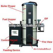new Bidragon BVFW ecological full automatic hot water boiler