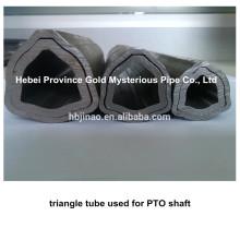 Toma de PTO Triángulo Tubo de acero sin costura y Tubo Eje de transmisión de maquinaria agrícola