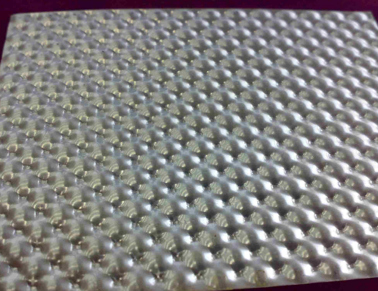 embossed perforated sheet metal