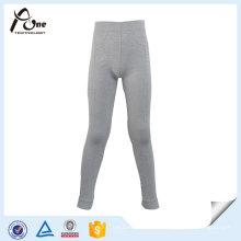 Meninos Warm Seamless Underwear Calças Longas Crianças