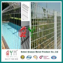 Fuerte valla de seguridad resistente a la corrosión / cerca de la pared Bouding