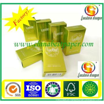 Self adhesive gold foil cardboard/paper