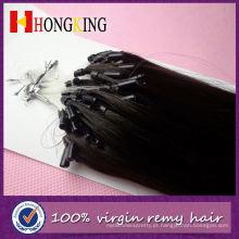 Escova do laço da extensão do cabelo do micro anel