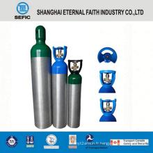 Cylindre de gaz en aluminium à haute pression 6.3L (LWH140-6.3-15)