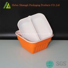Descartáveis de plástico tirar recipientes de alimentos