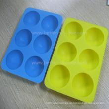 Kundenspezifische lebensmittelechte Silikon-Eiswürfelschalen