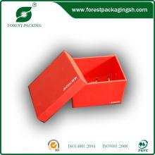 Caixa de presente impresso de papelão para relógio