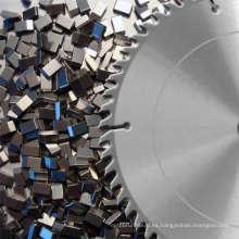 De carburo de tungsteno cortar la sierra de madera puntas Yg6 con cubierta de níquel